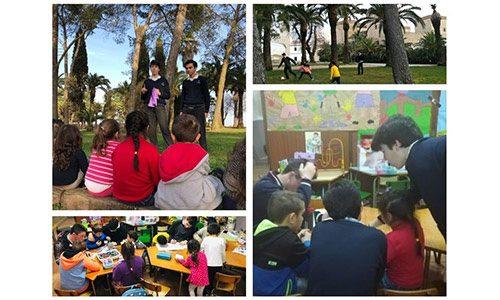 20190420 Talleres educativos en Badajoz